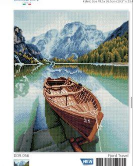 Diamond Painting Fjord Travel