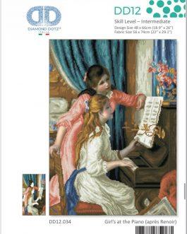 Diamond Painting Girls' at the Piano(après renoir)