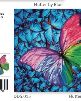 Diamond Painting Flutter by Pink