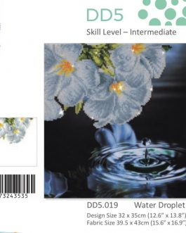 Diamond Painting Water Droplet