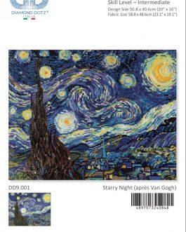 Diamond Painting Starry Night (après Van Gogh)