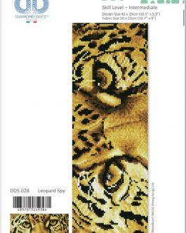 Diamond Painting Leopard Spy