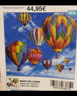 Diamond Painting Hot Air Balloons