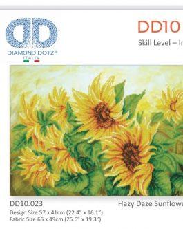 Diamond Painting Hazy Daze Sunflowers