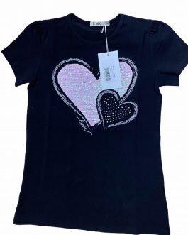 T-Shirt Mezza Manica Neonata