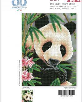 Diamond Painting Panda Prince